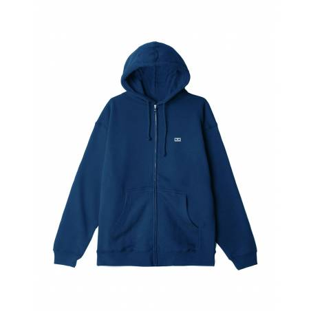 Obey Earth Crisis premium zip hoodie - blue sapphire obey Sweater 89,34€