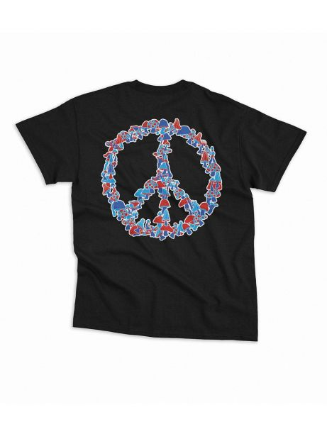 Nostalgia 1994 by Usual Peace tee - black Usual T-shirt 36,89 €