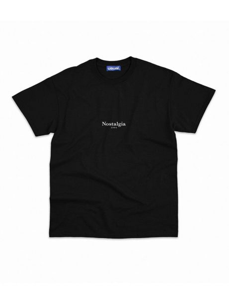 Nostalgia 1994 by Usual Peace tee - black Usual T-shirt 37,70€
