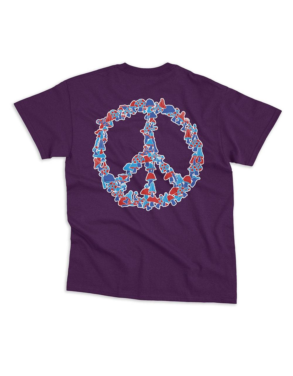 Nostalgia 1994 by Usual Peace tee - purple Usual T-shirt 36,89€