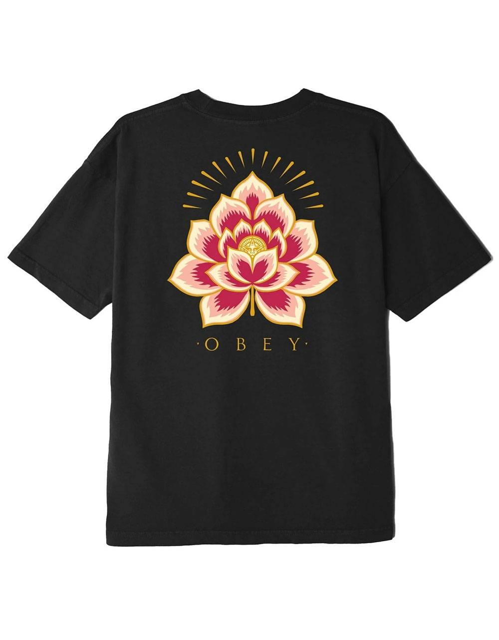 Obey Woman Radiant lotus classic tee - black obey T-shirt 36,89€