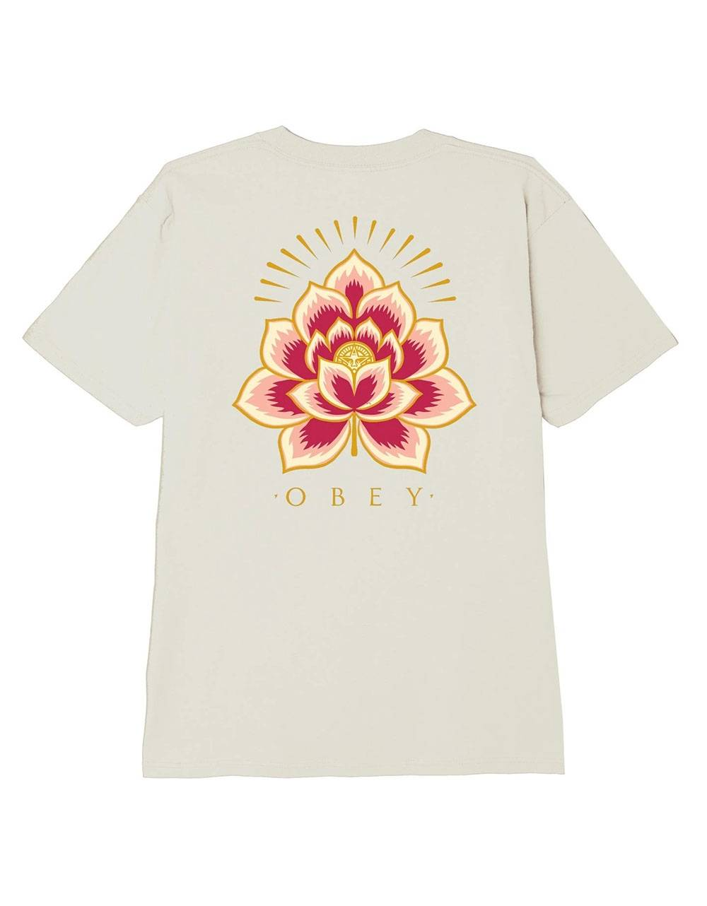 Obey Woman Radiant lotus classic tee - cream obey T-shirt 36,89€
