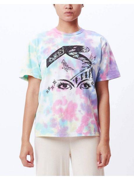 Obey Woman Fairy garden tie dye choice box tee - pastel blotch obey T-shirt 45,90€
