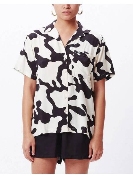 Obey Woman Glassy shirt - pecan multi obey Shirt 69,67€
