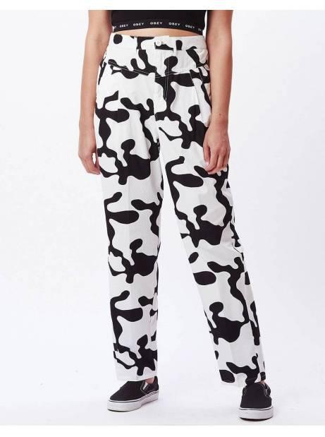 Obey Woman Kyoto pants - pecan multi obey Pants 77,87€