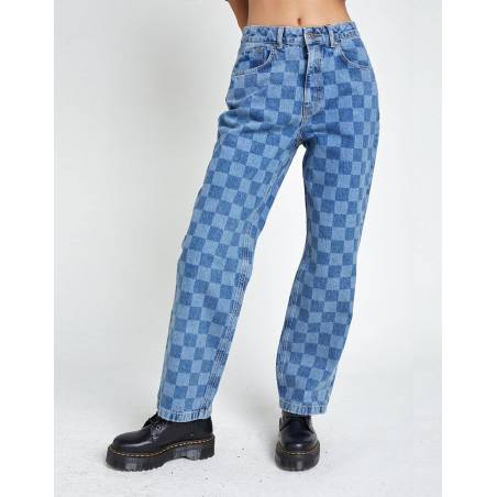 The Ragged Priest Rook Jeans - blue check The Ragged Priest Jeans 69,67€