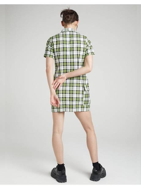 The Ragged Priest Gatherer dress - green/white check The Ragged Priest Dress 61,48€