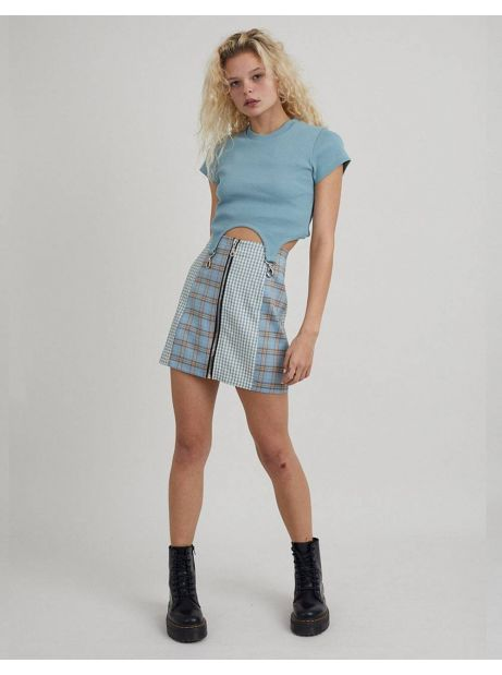 The Ragged Priest Guidance skirt - blue check The Ragged Priest Skirt 60,00€