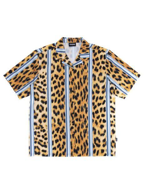 Pleasures Eddie button down shirt - cheetah Pleasures Shirt 102,46€