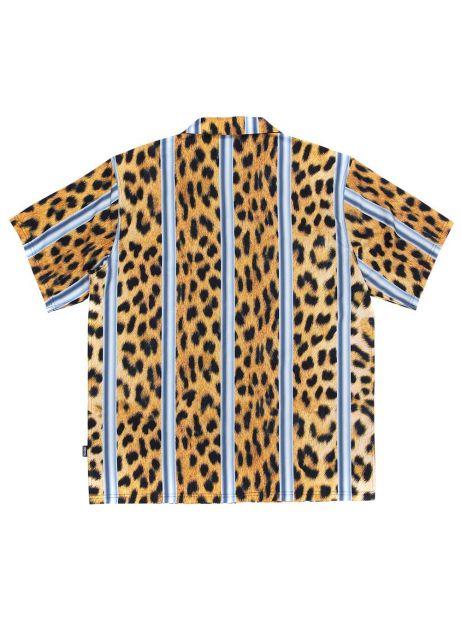 Pleasures Eddie button down shirt - cheetah Pleasures Shirt 125,00€