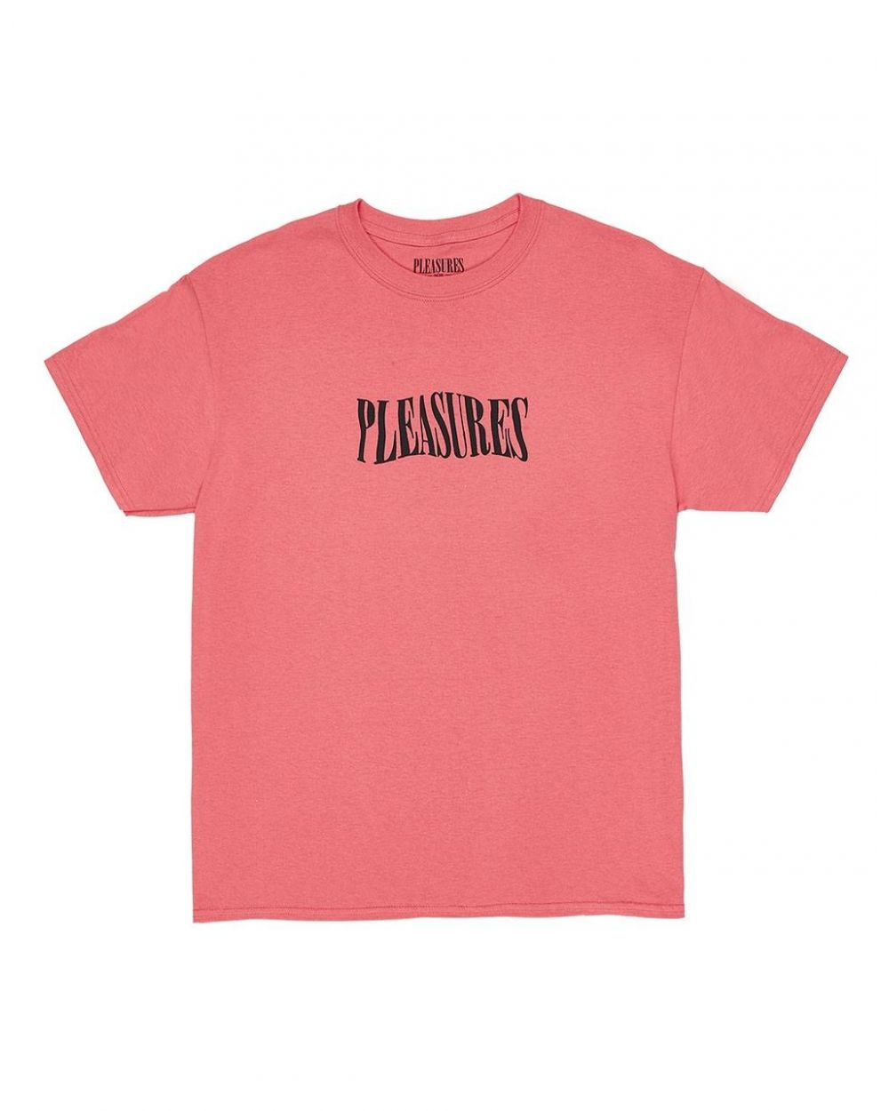 Pleasures Party logo t-shirt - coral Pleasures T-shirt 56,00€