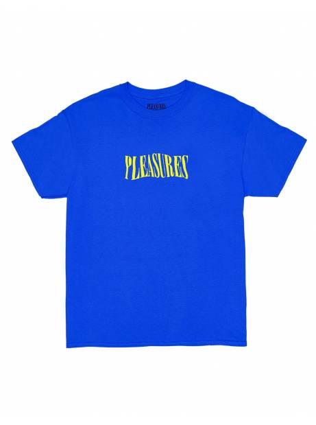 Pleasures Party logo t-shirt - royal blue Pleasures T-shirt 56,00€