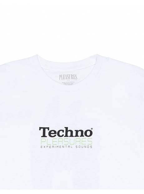 Pleasures Techno t-shirt - white Pleasures T-shirt 45,90€