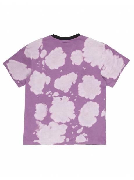 Pleasures Swinger dye heavy t-shirt - purple bleached Pleasures T-shirt 61,48€