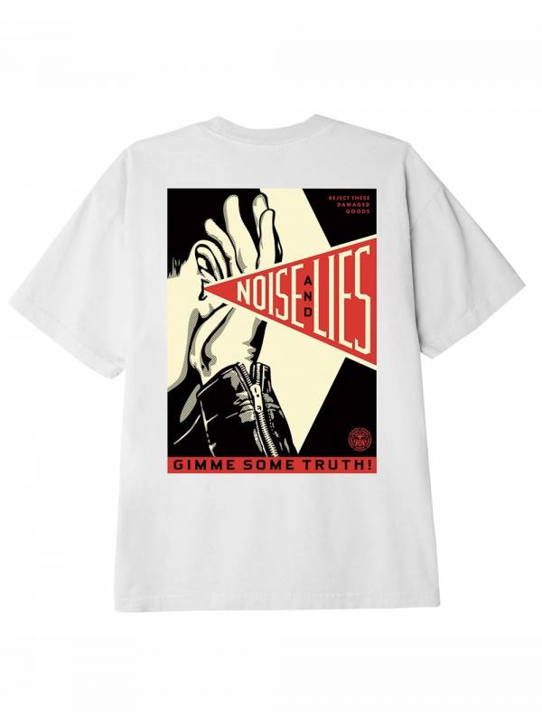 Obey Gimme some truth classic t-shirt - white obey T-shirt 46,00€