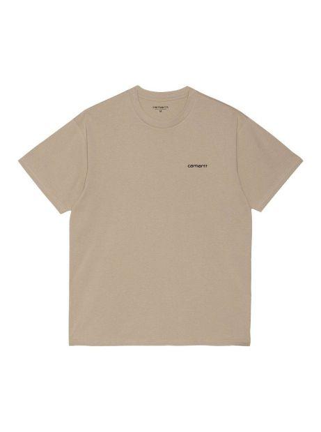 Carhartt Wip Script Embroidery T-Shirt - Wall/black CARHARTT WIP T-shirt 31,97€