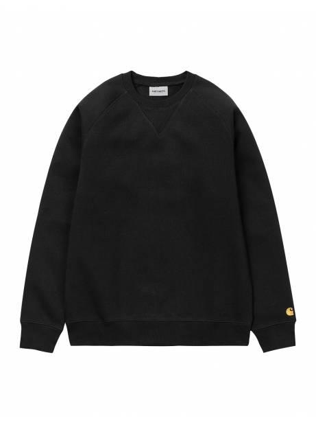 Carhartt Wip Chase sweatshirt - Black/gold CARHARTT WIP Sweater 73,00€