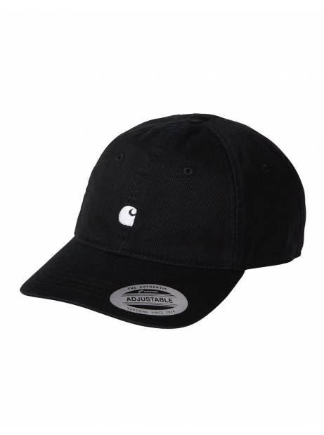 Carhartt Wip Madison logo cap - Black / White CARHARTT WIP Hat 40,00€