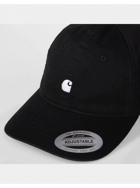 Carhartt Wip Madison logo cap - Black / White CARHARTT WIP Hat 32,79€