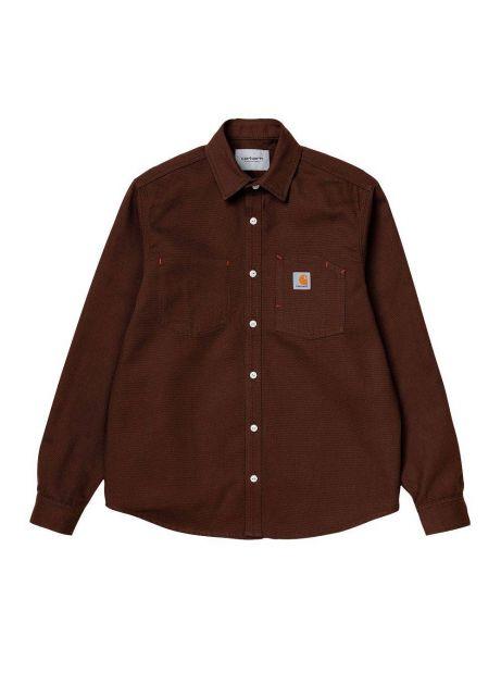Carhartt Wip Tony longsleeve shirt - Offroad rigid CARHARTT WIP Shirt 77,87€
