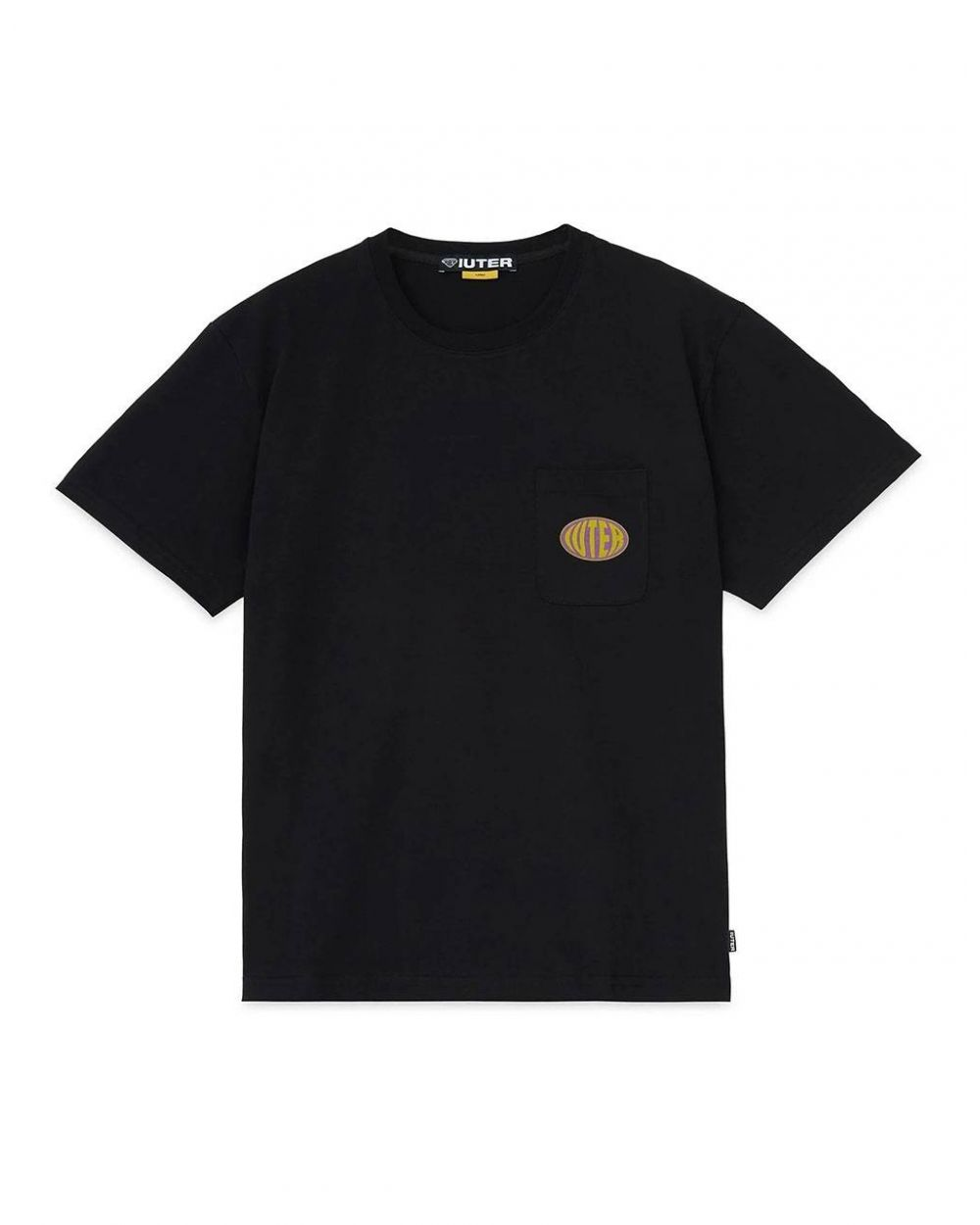 Iuter Hungry tee - black IUTER T-shirt 50,00€