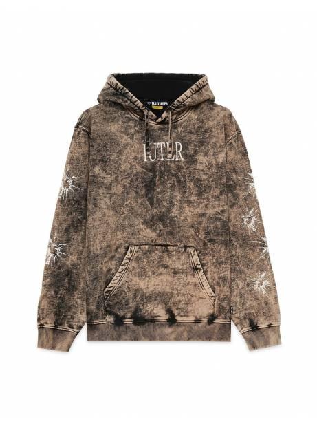 Iuter Value Hoodie - bleached black IUTER Sweater 102,46€