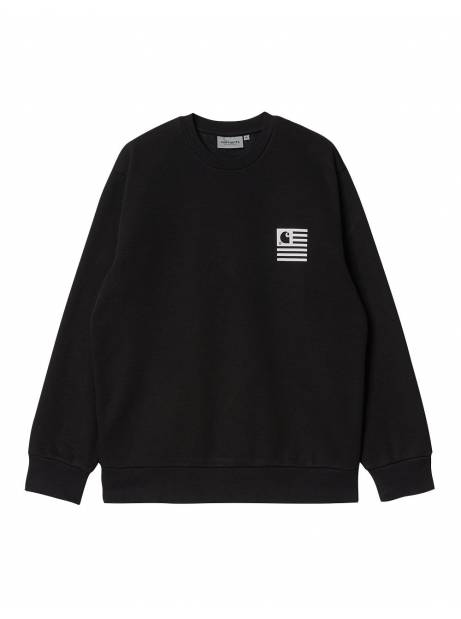 Carhartt Wip Fade state sweatshirt - Black/white CARHARTT WIP Sweater 73,77€