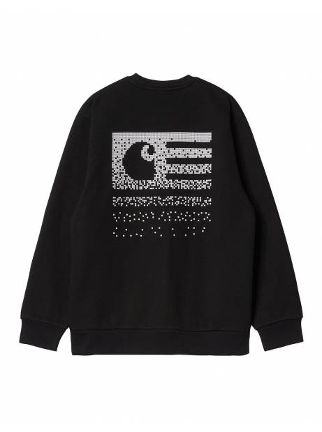 Carhartt Wip Fade state sweatshirt - Black/white CARHARTT WIP Sweater 90,00€