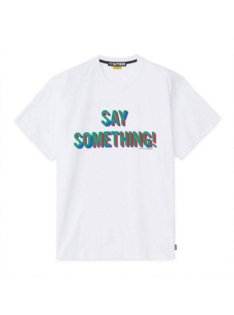 Iuter Say something tee - white IUTER T-shirt 36,89€