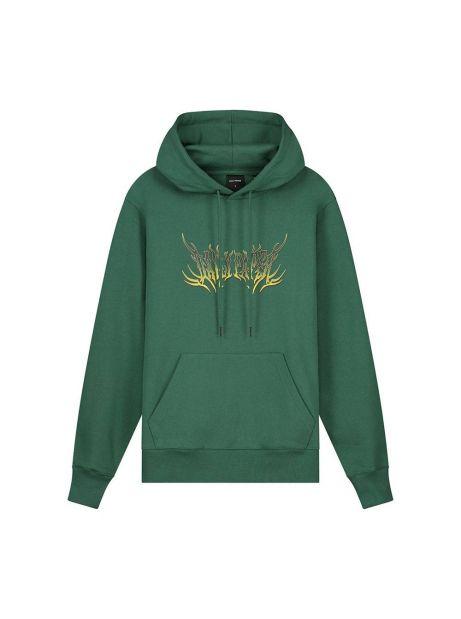 Daily Paper Logan hoodie - smoke pine green DAILY PAPER Sweater 106,56€