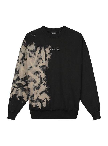 Daily Paper Lorin crew sweater - smoke black DAILY PAPER Sweater 135,00€