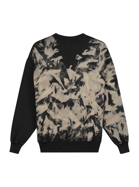 Daily Paper Lorin crew sweater - smoke black DAILY PAPER Sweater 110,66€