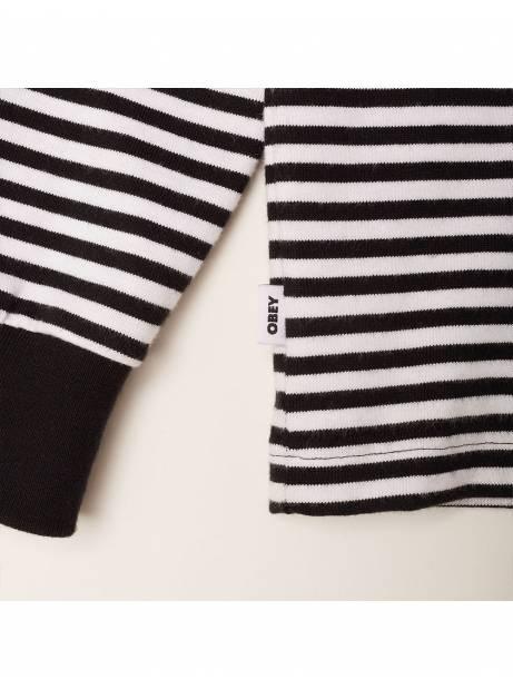 Obey Icon legacy longsleeve tee - black/ multi obey Sweater 56,56€