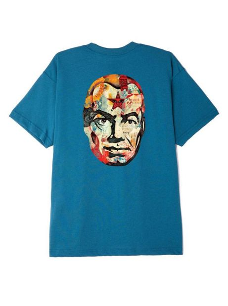 Obey Big brother sustainable t-shirt - shaded spruce obey T-shirt 55,00€