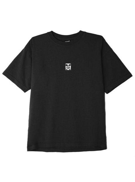 Obey Misprint heavyweight t-shirt - off black obey T-shirt 50,00€