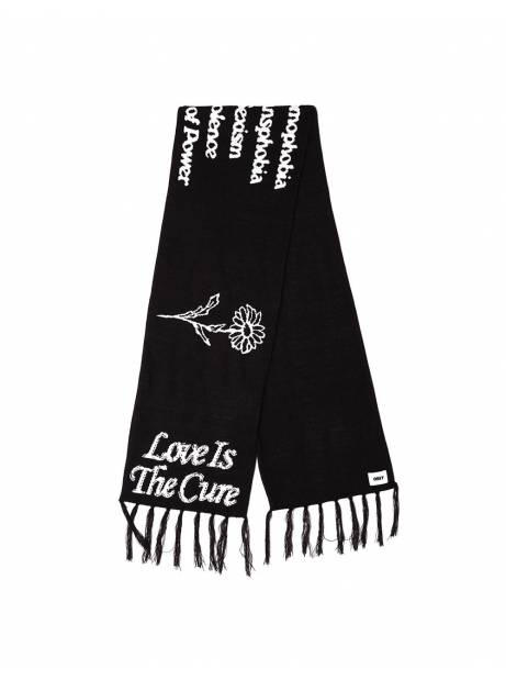 Obey The cure scarf - black obey Scarf 65,00€