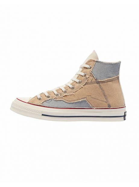 Converse Patchwork chuck 70 ltd - Brown/grey Converse Sneakers 170,00€