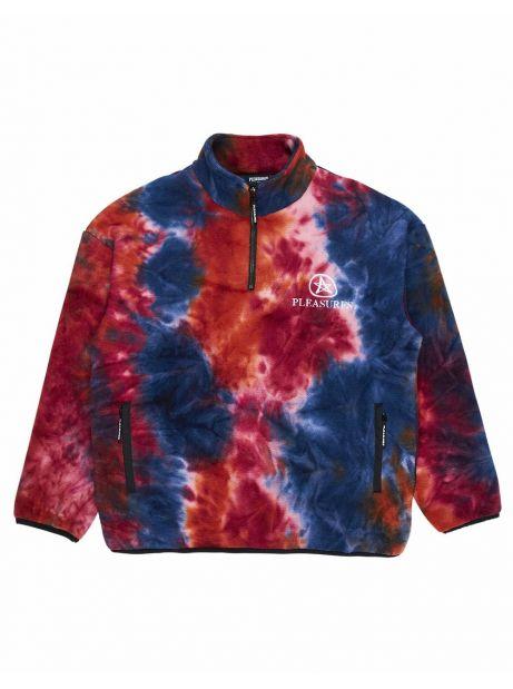 Pleasures Caffeine polar fleece - orange Pleasures Sweater 150,00€