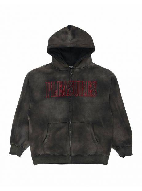 Pleasures Gospel zip hoodie - black Pleasures Sweater 122,13€