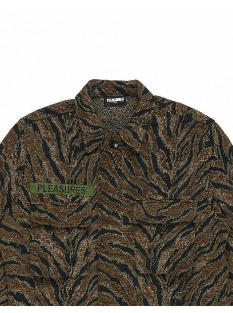 Pleasures Jungle overshirt jacket - brown Pleasures Jacket 199,00€