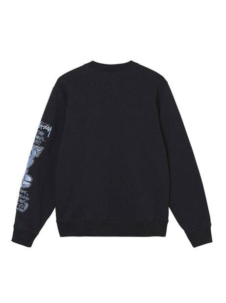 Stussy Venus app. crewneck sweater - black Stussy Sweater 125,00€
