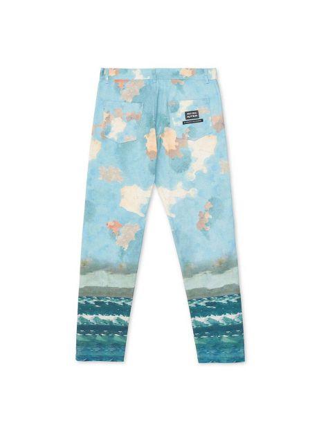 Iuter x Fernet Branca 1904 five pocket denim pants - light blue IUTER Pant 169,00€