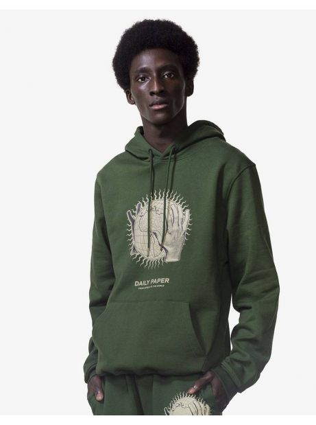 Daily Paper Hobe hoodie - mountain green DAILY PAPER Sweater 103,28€