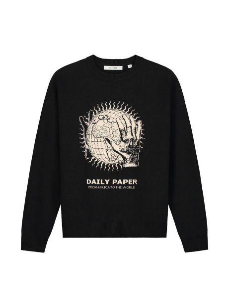 Daily Paper Hobe knitwear - black DAILY PAPER Knitwear 156,00€
