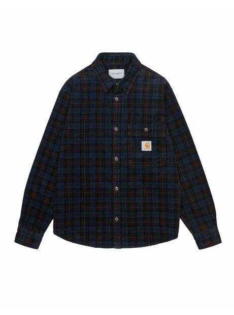 Carhartt Wip Flint corduroy shirt - BreckCheckPrint,Tobacco rinsed CARHARTT WIP Shirt 98,36€