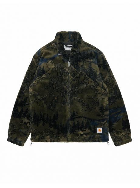 Carhartt Wip High plains liner jacket - jacquard cypress CARHARTT WIP Jacket 199,00€