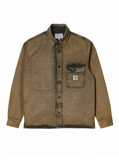Carhartt Wip Reno shirt jacket - tawny crater wash CARHARTT WIP Shirt 118,85€