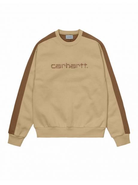 Carhartt Wip Tonare sweat - Dusty hamilton brown CARHARTT WIP Sweater 78,69€