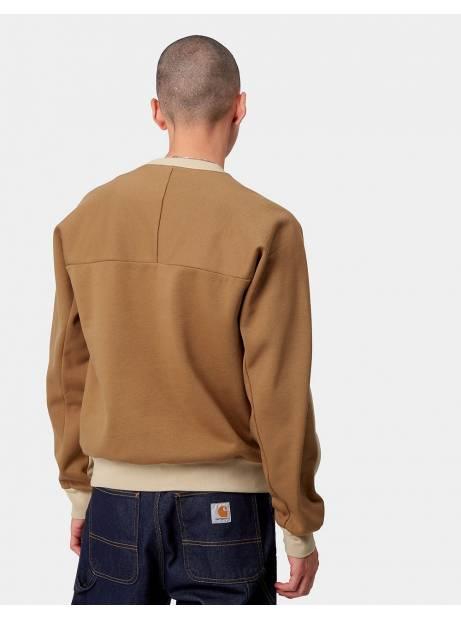 Carhartt Wip Tonare sweat - Dusty hamilton brown CARHARTT WIP Sweater 96,00€