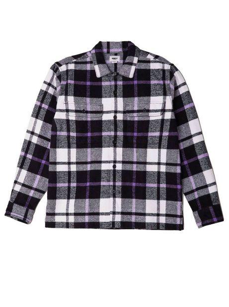 Obey Advert woven - black multi obey Shirt 89,34€